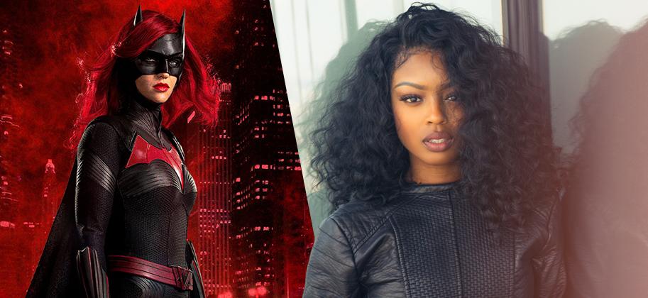 Javicia Leslie và hình ảnh nhân vật cô sẽ đảm nhận.