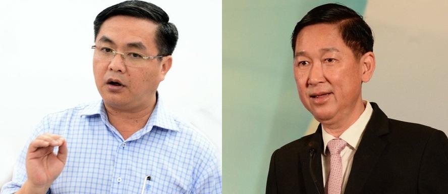 Ông Trần Trọng Tuấn và Trần Vĩnh Tuyến vừa bị khởi tố