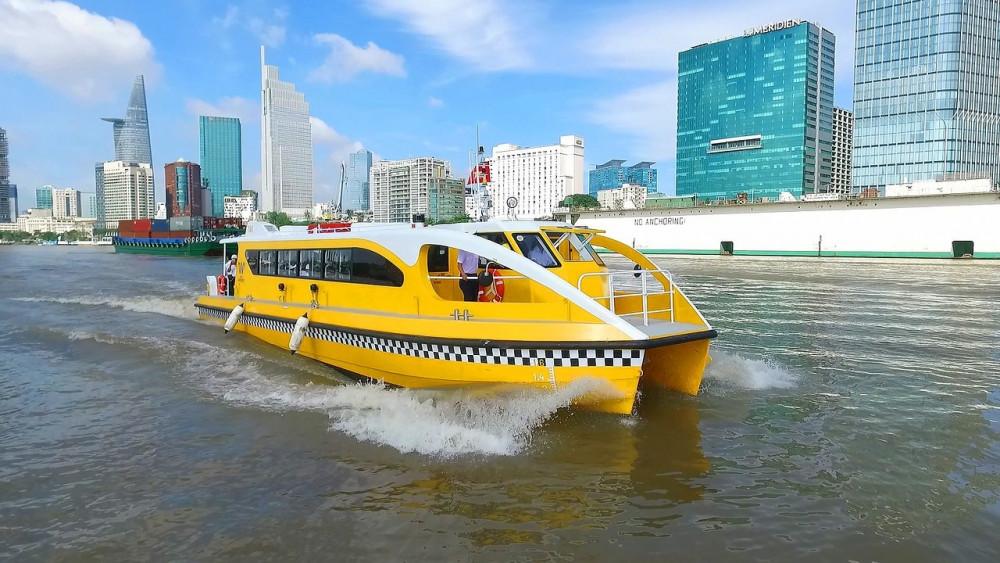 Tuyến buýt sông của TPHCM vẫn chưa như mong đợi về lượng khách. Ảnh: internet