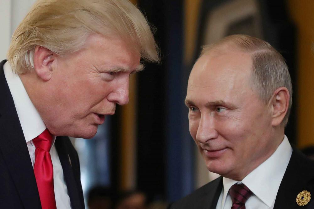 Tổng thống Trump nói rằng khác với những người tiền nhiệm, ông có hành động cứng rắn hơn đối với Nga.