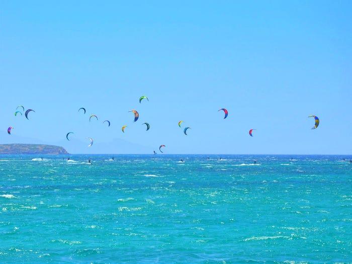 Pounda, điểm lướt ván diều nổi tiếng thế giới