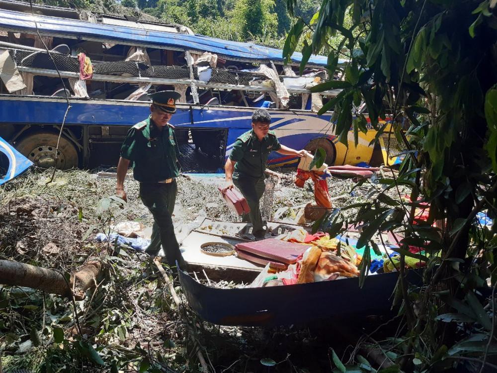 Lực lượng chức năng đang nỗ lực làm rõ nguyên nhân vụ tai nạn