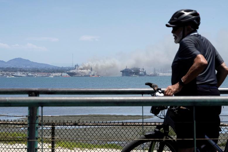 Các tàu neo đậu xung quanh đã được giải tán toàn bộ, di chuyển đến các bến cảng khác trong vòng 90 phút sau đó. Có khoảng 4 người dân cũng bị thương trong vụ việc này.
