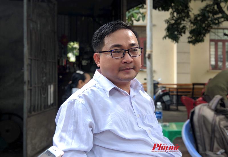 Thầy giáo Ngữ văn Phạm Quốc Đạt kiện trường THPT Võ Trường Toản