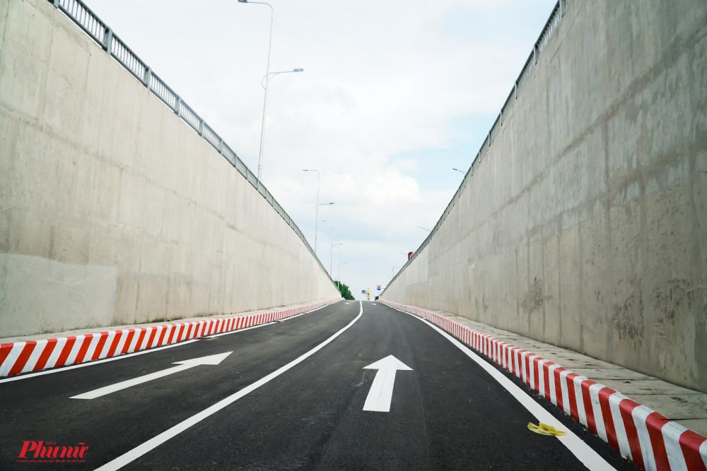 Hầm chui nút giao An Sương đã hoàn tất, dự kiến sẽ được thông xe vào sáng ngày 14/7
