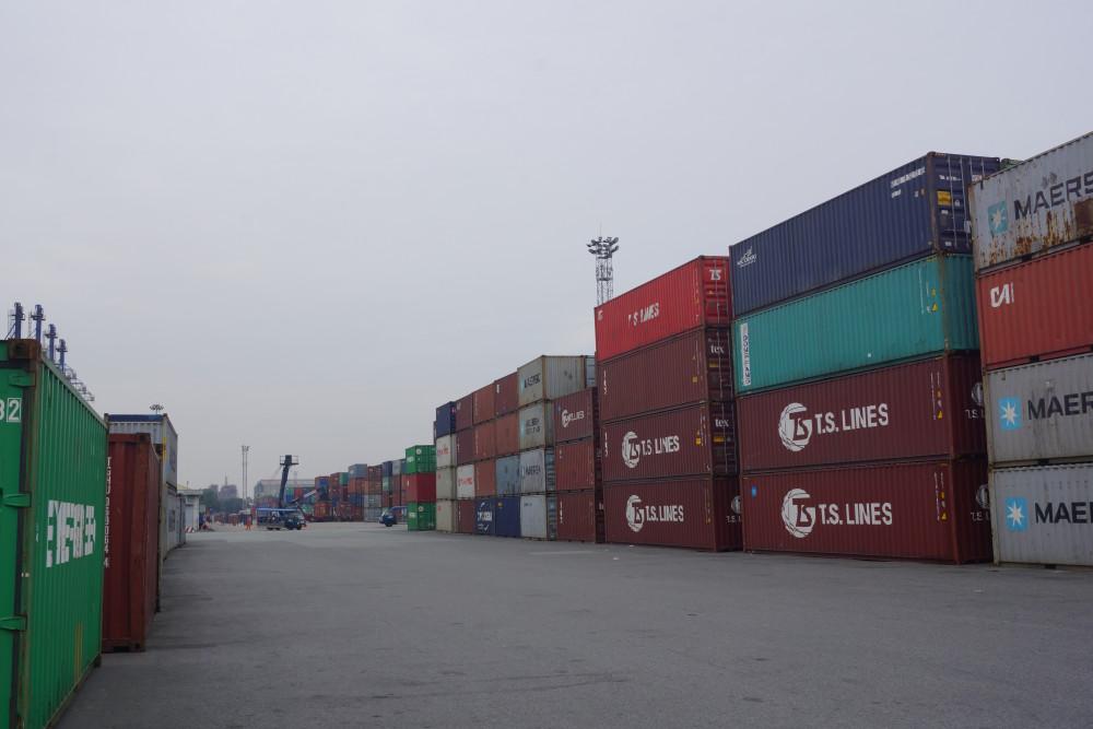 Lượng hồ tiêu chứa trong 58 container của 13 doanh nghiệp trị giá hơn 3 triêu USD
