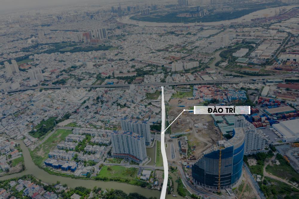 Hàng loạt ông lớn bất động sản tập trung về đường Đào Trí với những dự án tầm cỡ
