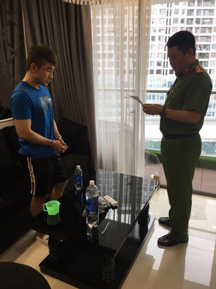Lục Triều Vỹ lúc bị bắt