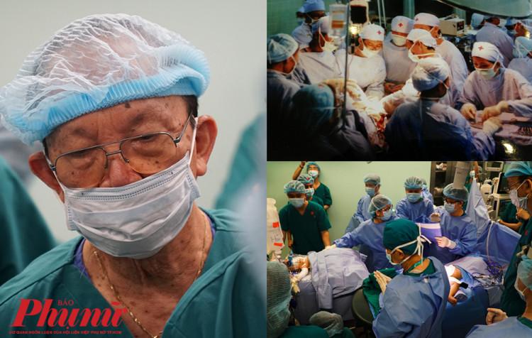 Giáo sư Trần Đông A trải qua hai cuộc mổ tách bé song sinh dính liền Việt - Đức của 32 năm trước và song Nhi của hôm nay
