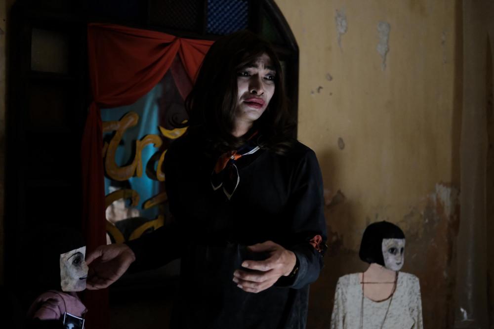 khương ngọc ( phim ống kính sát nhân) là gương mặt hiếm hoi vào vai phản diện ấn tượng