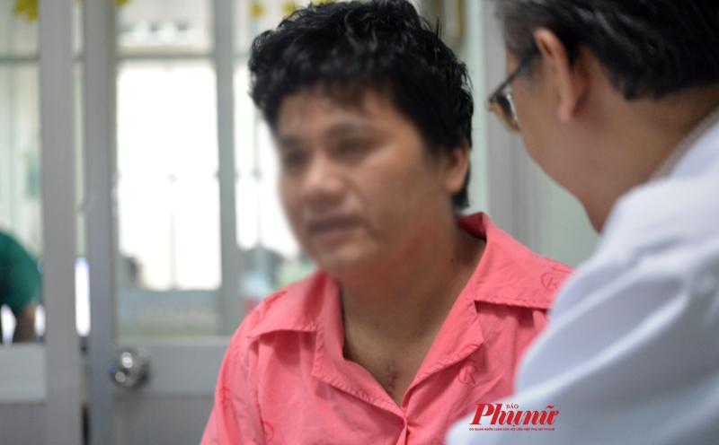Anh Đỗ Văn P. sau khi được phẫu thuật lấy cây tăm tre ra khỏi trái tim. Ảnh: Hiếu Nguyễn