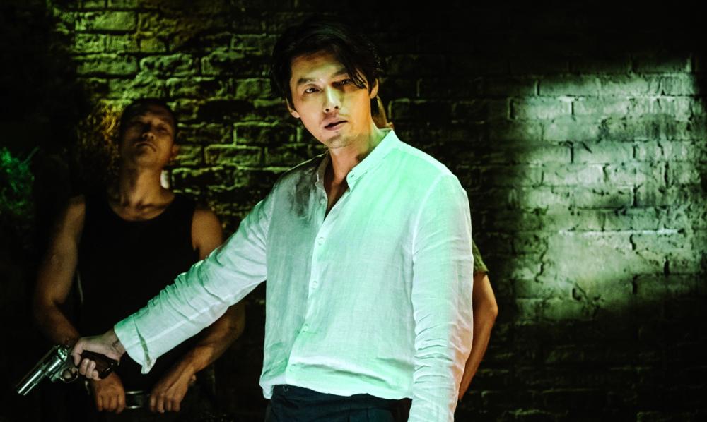 Ngay cả khi vào vai phản diện (phim Cuộc đàm phán sinh tử) Hyun Bin cũng tạo được ấn tượng đặc biệt trong lòng khán giả