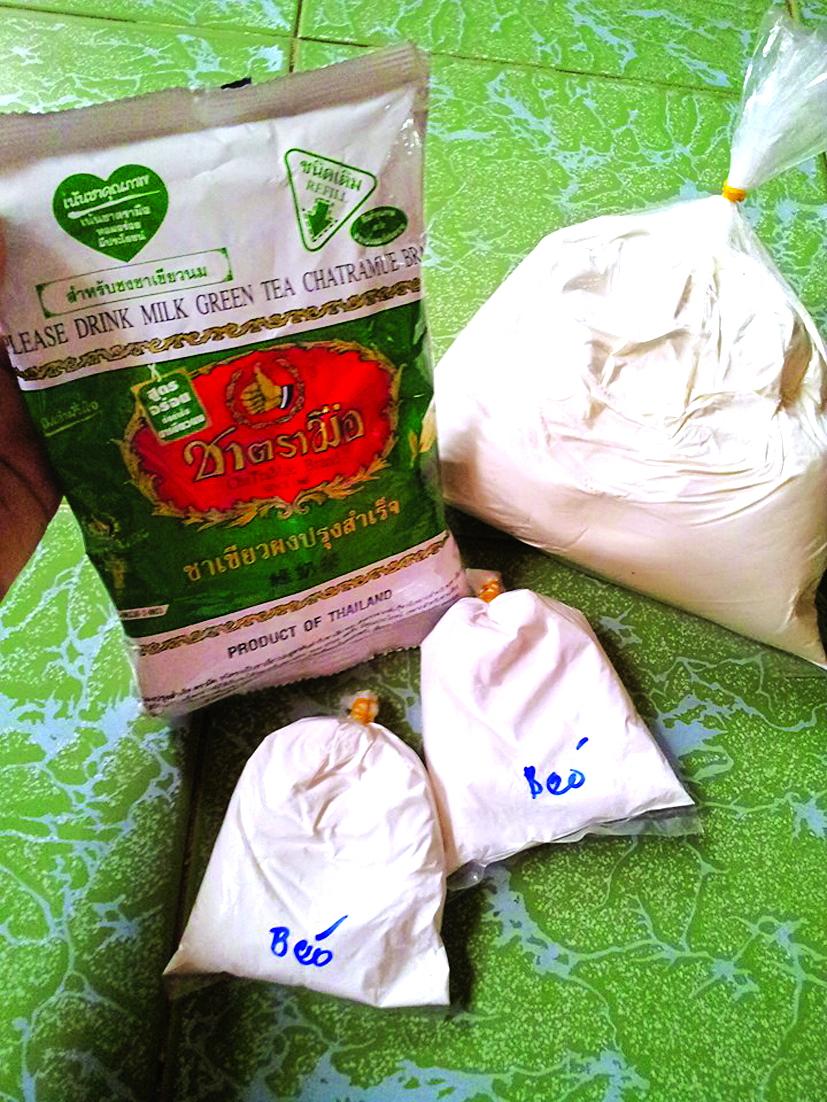 Nguyên liệu trà sữa bán tại chợ và trên mạng đều không rõ nguồn gốc xuất xứ nhưng khá thu hút người tiêu dùng