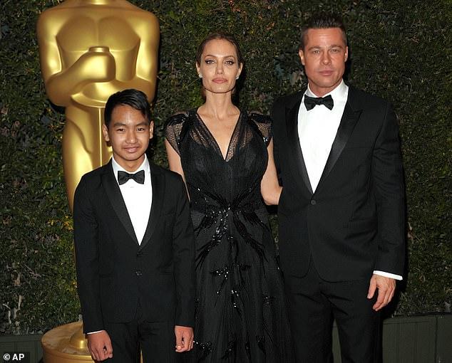 Mối quan hệ giữa Brad Pitt và Maddox không có tiến triển dù Angelina Jolie nỗ lực hàn gắn.