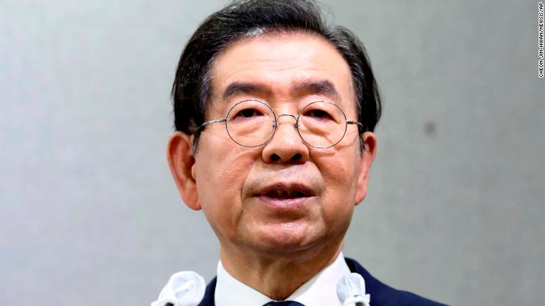 Cựu Thị trưởng Seoul Park Won-Soon qua đời trong một vụ tự sát vào ngày 9/7.