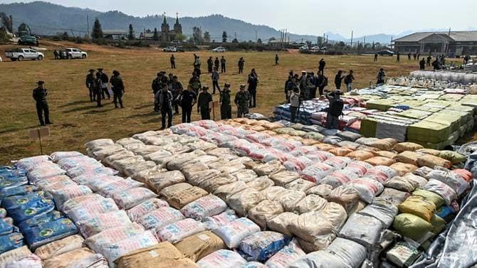 Buôn bán ma túy tại Tam giác vàng bùng nổ bất chấp nỗ lực kiểm soát từ chính quyền các nước.