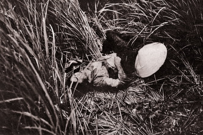 Trước cuốn sách  12-2-1968 , nhà báo Koh Kyoung Tae từng có một triển lãm ảnh nạn nhân chiến tranh Việt Nam -  Nguồn: Báo cáo điều tra của lính Mỹ.