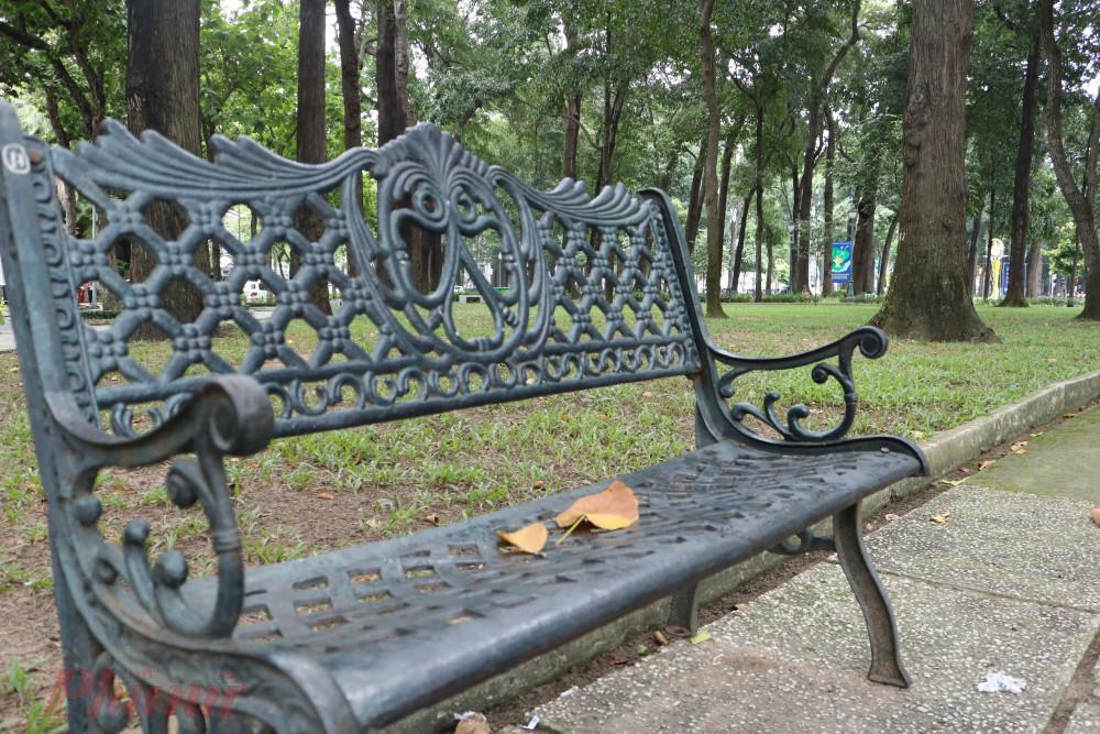 Và những chiếc ghế đủ lãng mạn để lên hình