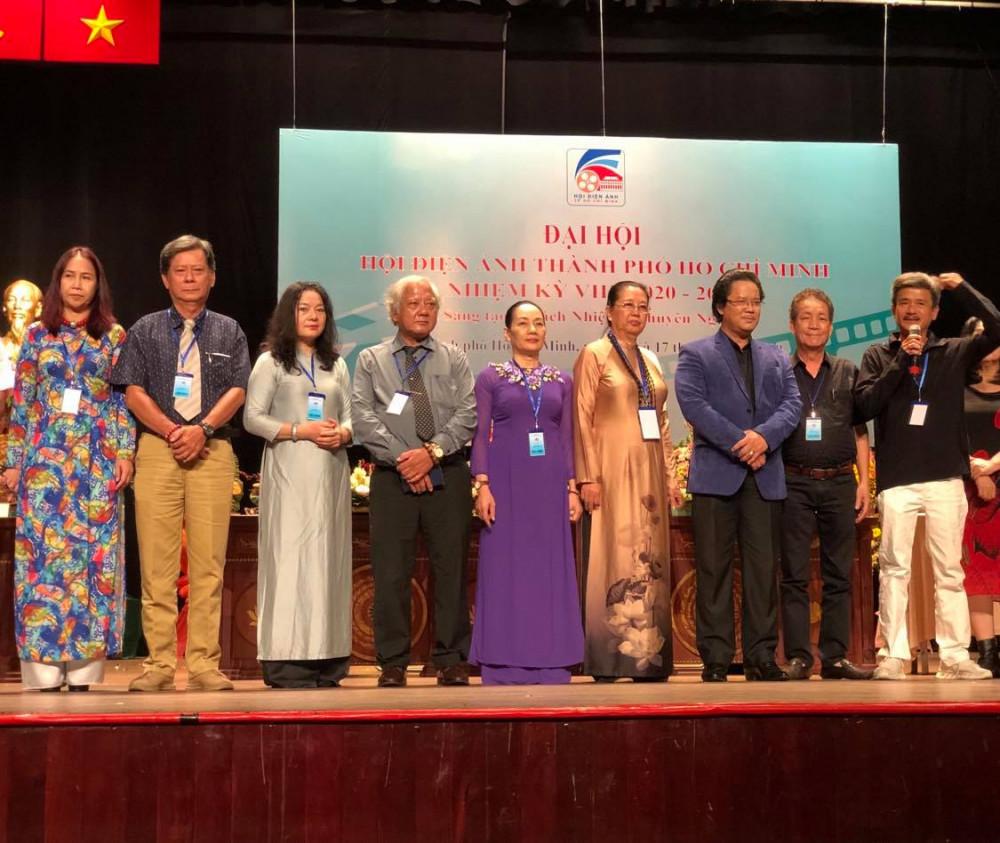 Ban Chấp hành Hội Điện ảnh TPHCM nhiệm kỳ 2020 - 2025