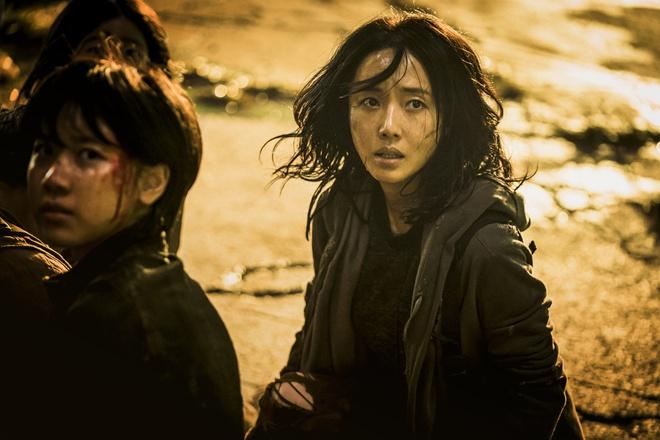 Nữ diễn viên Lee Jung-hyun trên phim.