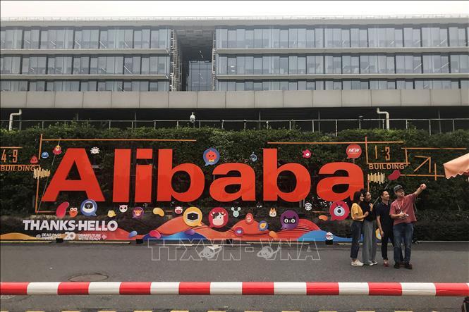 Trụ sở Alibaba tại Hàng Châu, tỉnh Chiết Giang, Trung Quốc