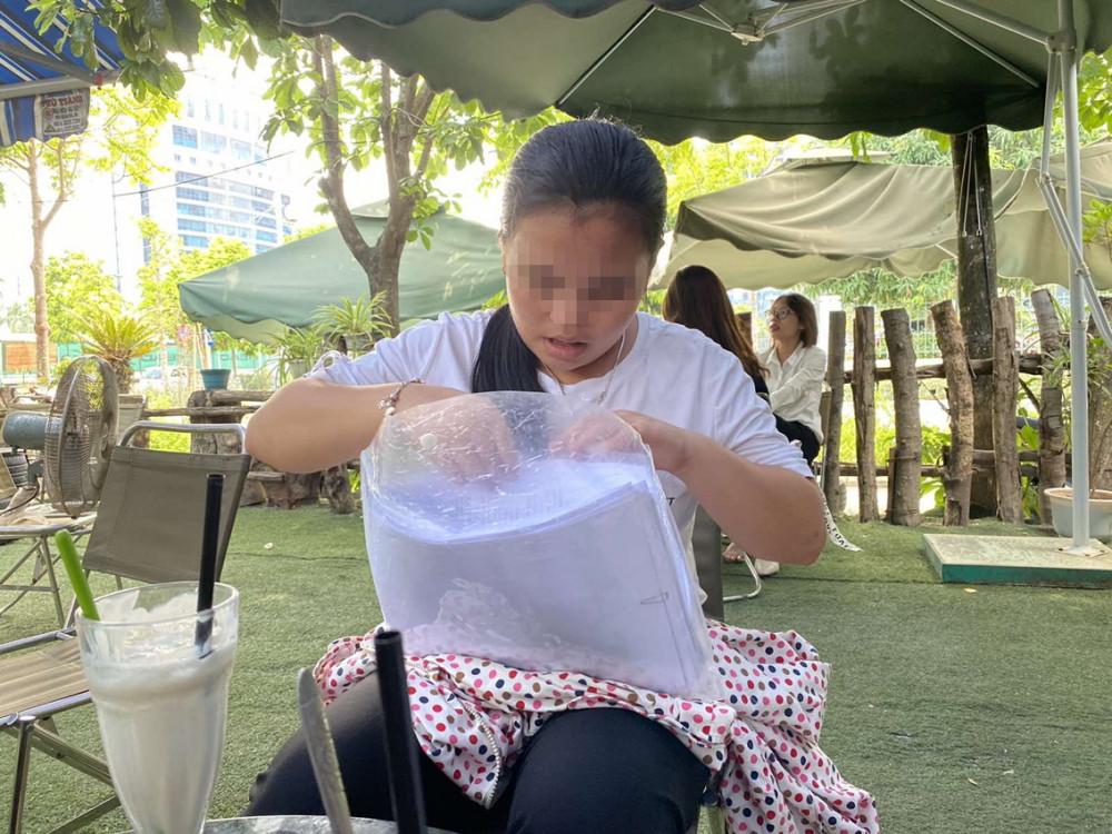 Cháu Nguyễn Minh T. hiện đang phải nghỉ học do lo sợ bị hãm hại
