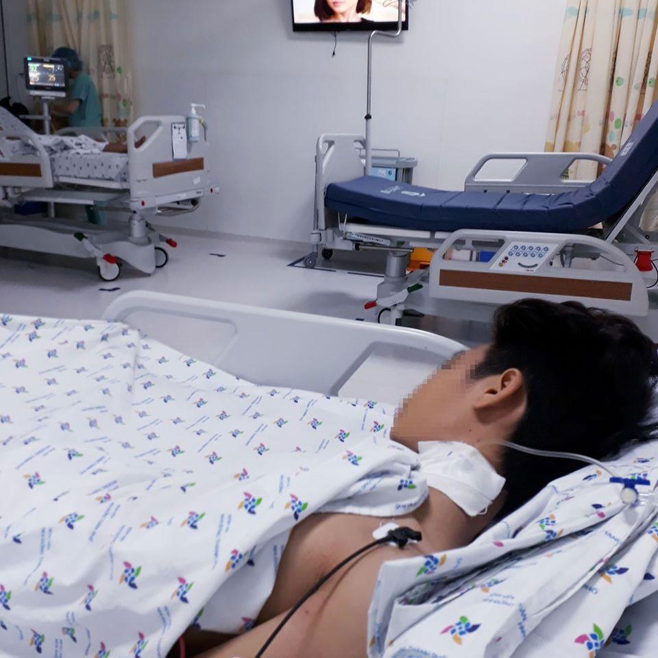 Bé K. được điều trị tại Bệnh viện Nhi đồng Thành phố