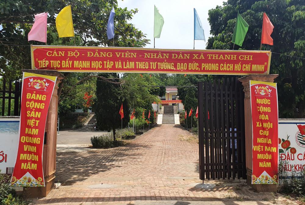 Trụ sở UBND xã Thanh Chi