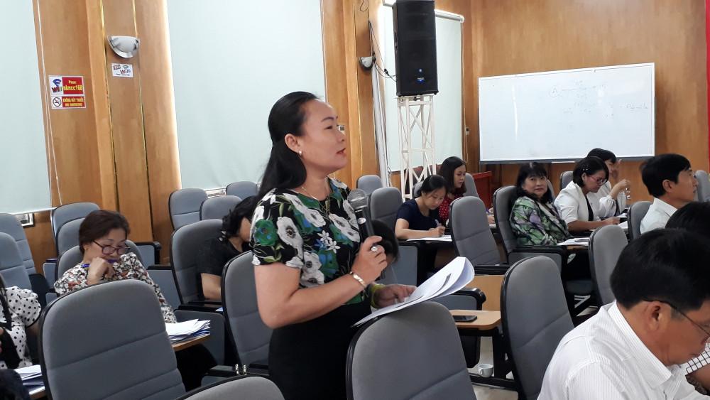 Đại diện tỉnh Bình Thuận thông tin về kết quả thực hiện đề án