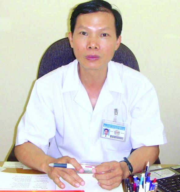 Tiến sĩ - bác sĩ Đặng Huy Quốc Thịnh -  Phó giám đốc Bệnh viện Ung Bướu TP.HCM