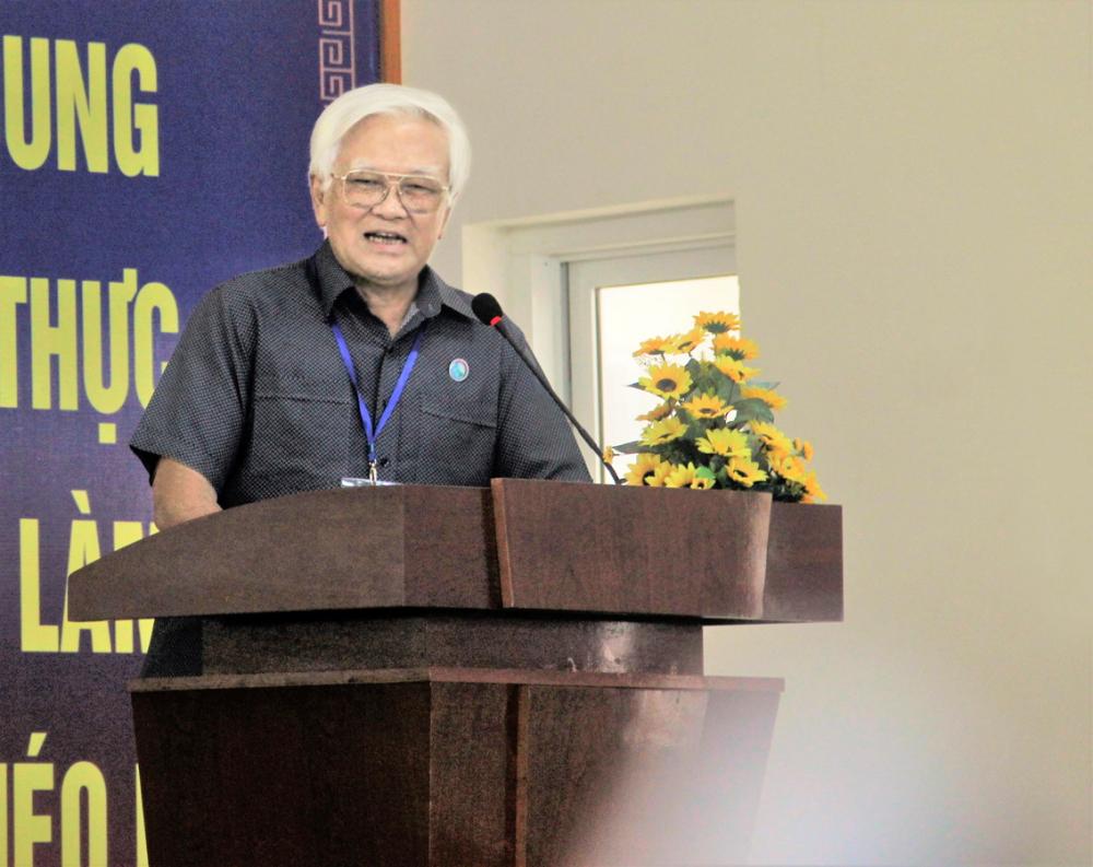 TS Nguyễn Chí Thành - Giám đốc Trung tâm Nghiên cứu rừng và đất ngập nước