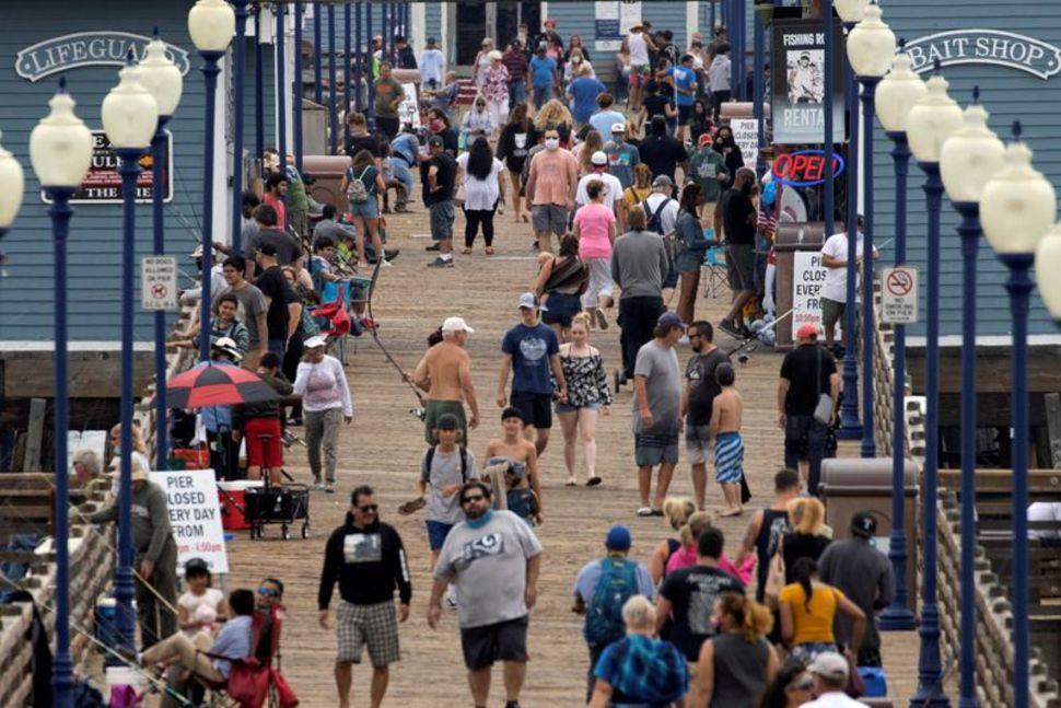 Bang California ghi nhận kỷ lục hơn 12.000 ca nhiễm trong ngày.