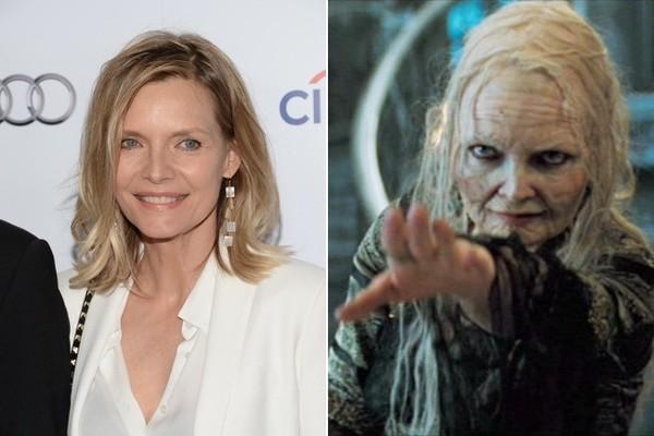 Dung mạo Michelle Pfeiffer ngoài đời và trên Stardust.