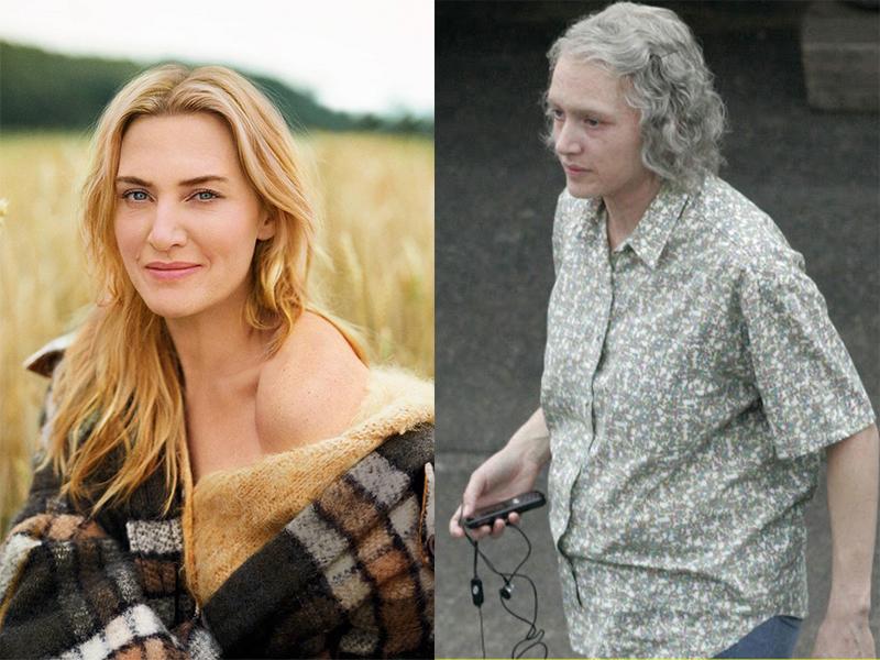 Kate Winslet vào vai bà lão già chậm chạm.