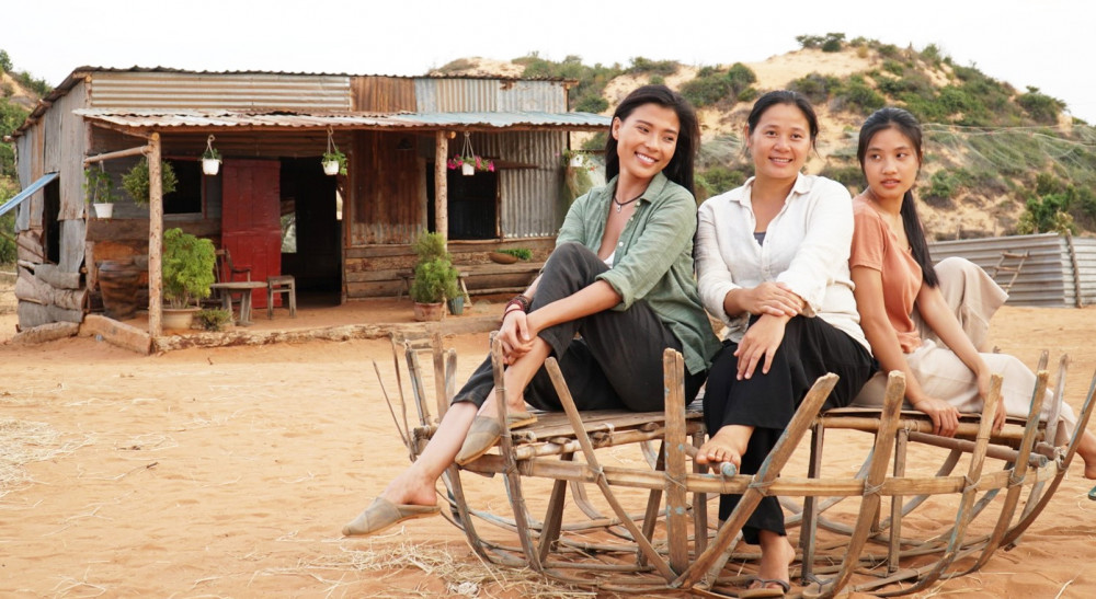 Cát đỏ đánh thức câu hỏi: Bao giờ phim truyền hình đậm dấu ấn văn hóa Việt? - ảnh: VFC