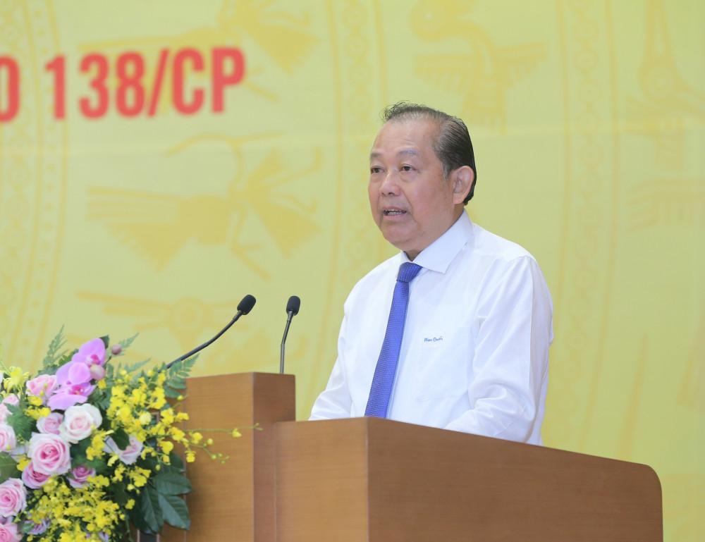 Phó Thủ tướng Trương Hòa Bình.