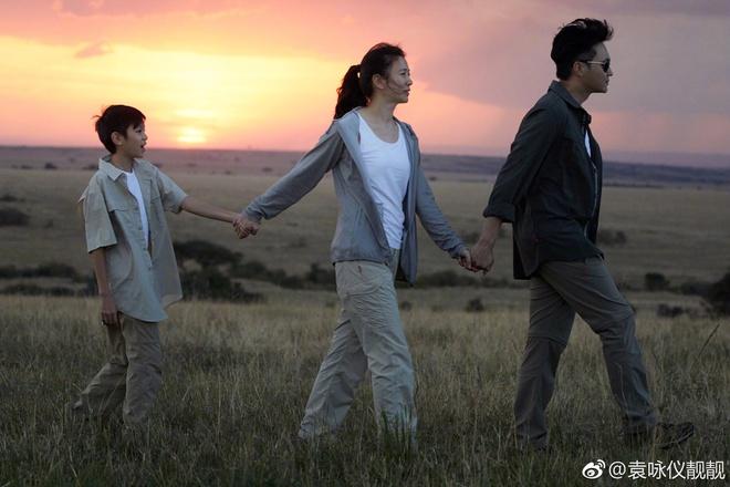 Gia đình hạnh phúc của Trương Trí Lâm