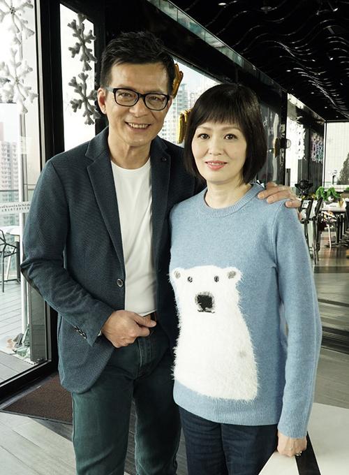 Huỳnh Nhật Hoa và vợ lúc còn sinh thời