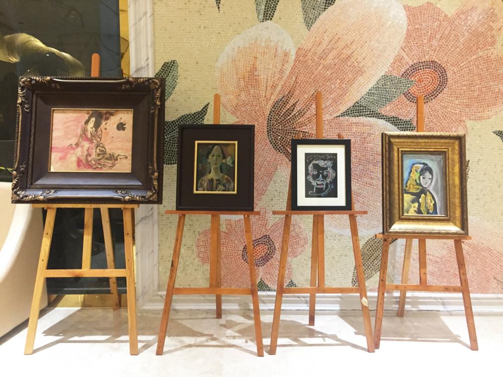 République D'Art diễn ra từ24-26/7, chỉ giới thiệu những tác phẩm không còn thuộc sở hữu của họa sĩ