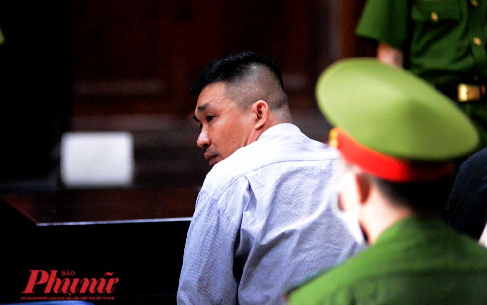Ông trùm ma túy Văn Kính Dương tại tòa sáng 23/7/2020. Ảnh: Hiếu Nguyễn