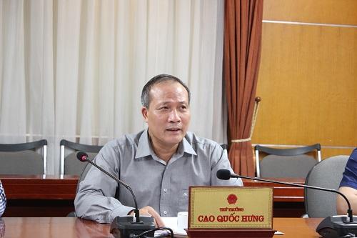 Thứ trưởng Bộ Công thương có buổi làm việc với đại diện Hiệp hội hồ tiêu Việt Nam và các DN xuất khẩu đang có hàng kẹt tại cảng Nepal.