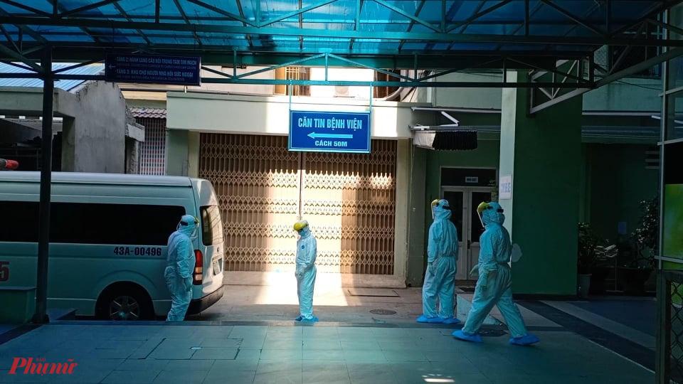 Bệnh nhân T.V.D. được chuyển từ Bệnh viện C Đà Nẵng sang điều trị ở Bệnh viện Đà Nẵng