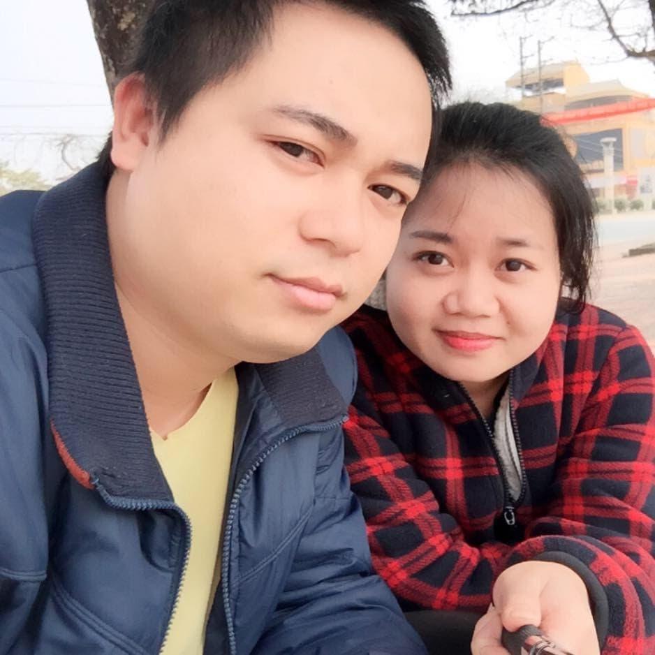 Vợ chồng chị Minh Ngọc. Ảnh do nhân vật cung cấp