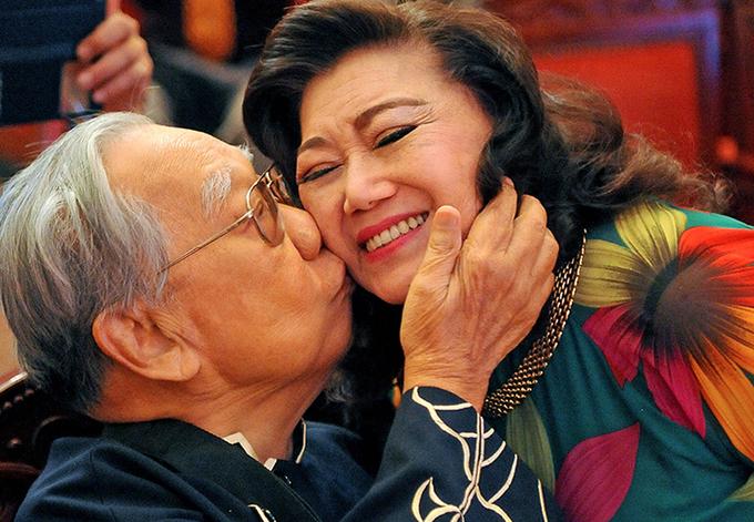 NSND Kim Cương xem cố giáo sư là người thầy không lớp học, không tuổi và không bao giờ chết