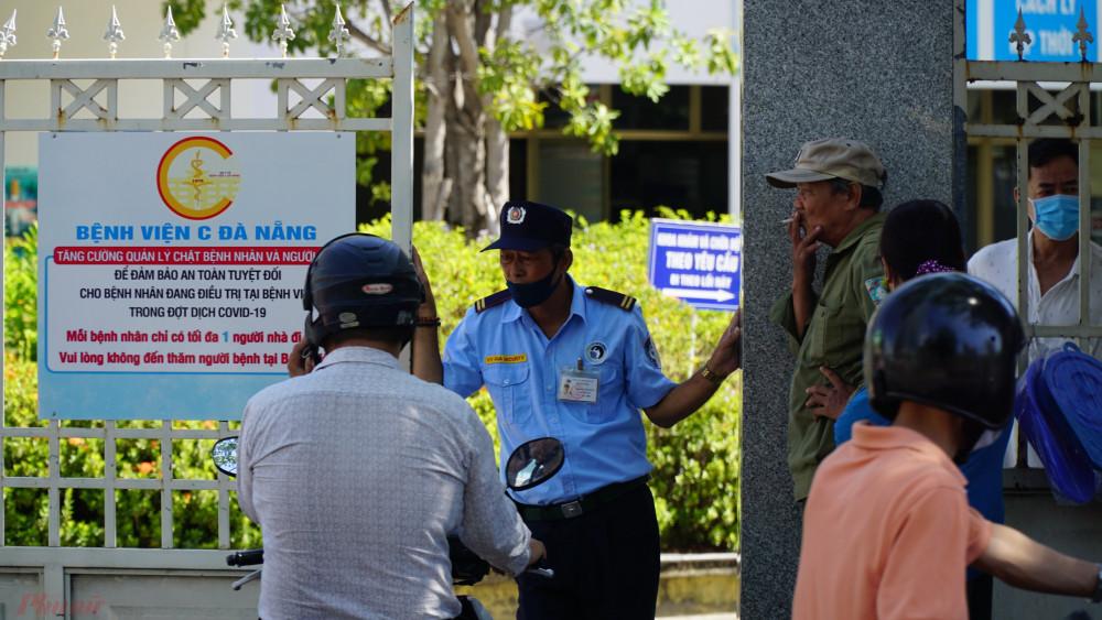 Bệnh viện C Đà Nẵng tạm thời đóng cửa không tiếp nhận bệnh nhân mới cũng như chưa cho bệnh nhân chữa trị bên trong xuất viện
