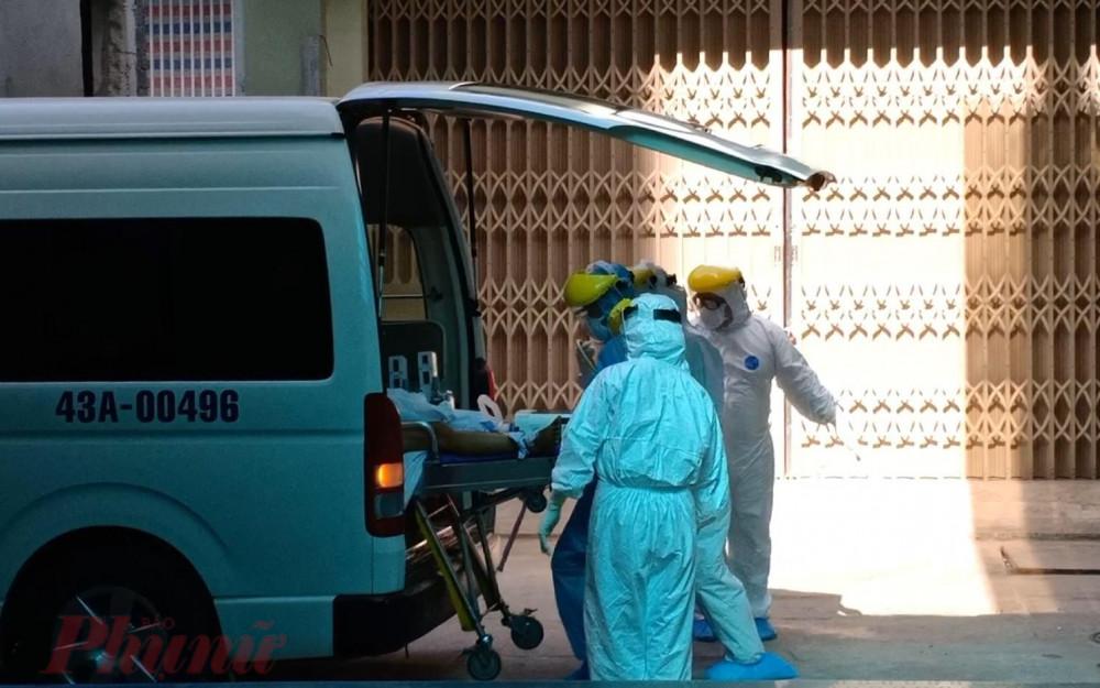 Bệnh nhân 416 được chuyển từ Bệnh viện C qua Bệnh viện Đà Nẵng để điều trị