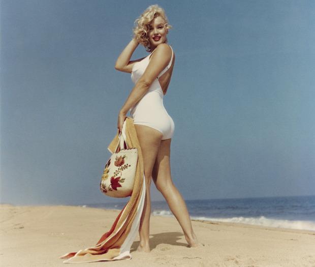 Marilyn Monroe mang đến tiêu chuẩn mới về vẻ đẹp của vòng ba