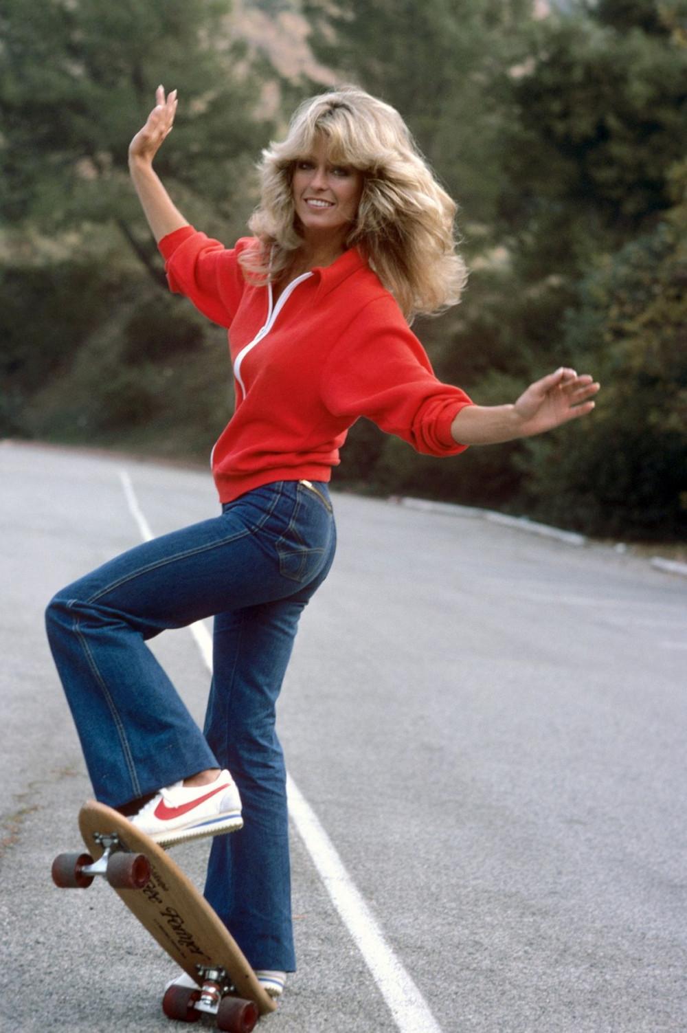 Farrah Fawcett hình mẫu vẻ đẹp ở thập niên 70