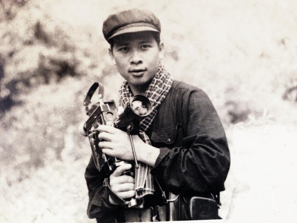 Đại tá Phan Sỹ Lan thời trẻ - Ảnh: Tư liệu