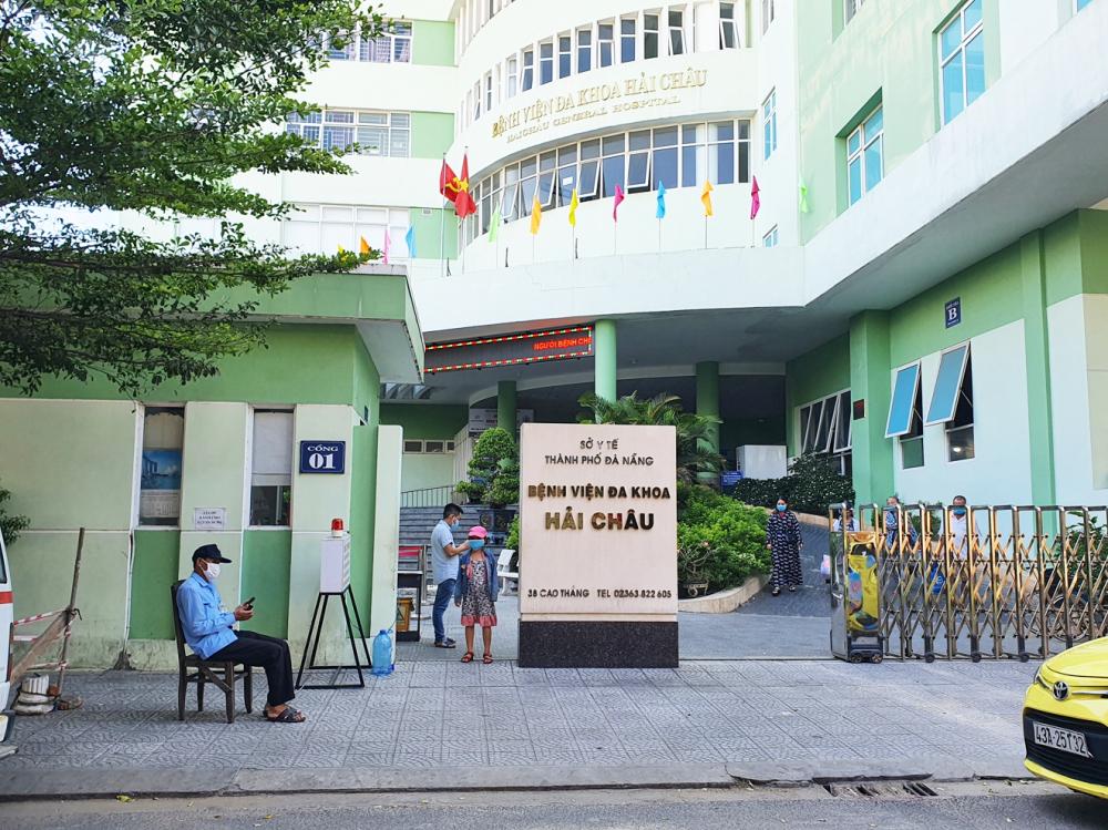 Bệnh viện Q.Hải Châu ra quân chống dịch và siết kiểm soát người ra vào